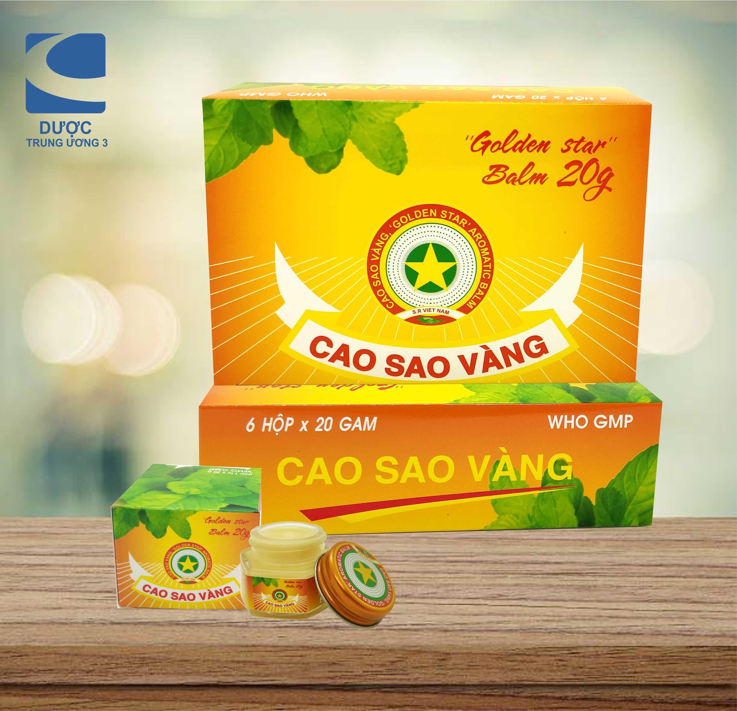 CAO SAO VÀNG 20g  - Golden star Balm