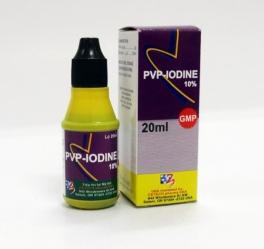 PVP- IODINE 10%- Lọ 20ml